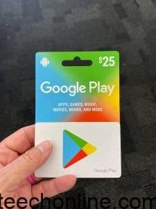 ربح بطاقات جوجل بلاي مجانا 2021